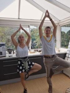 Yoga Pauline Maniez et Thomas Gusatto